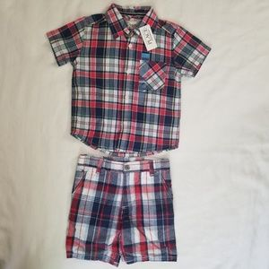 2-3T kids shorts and shirt